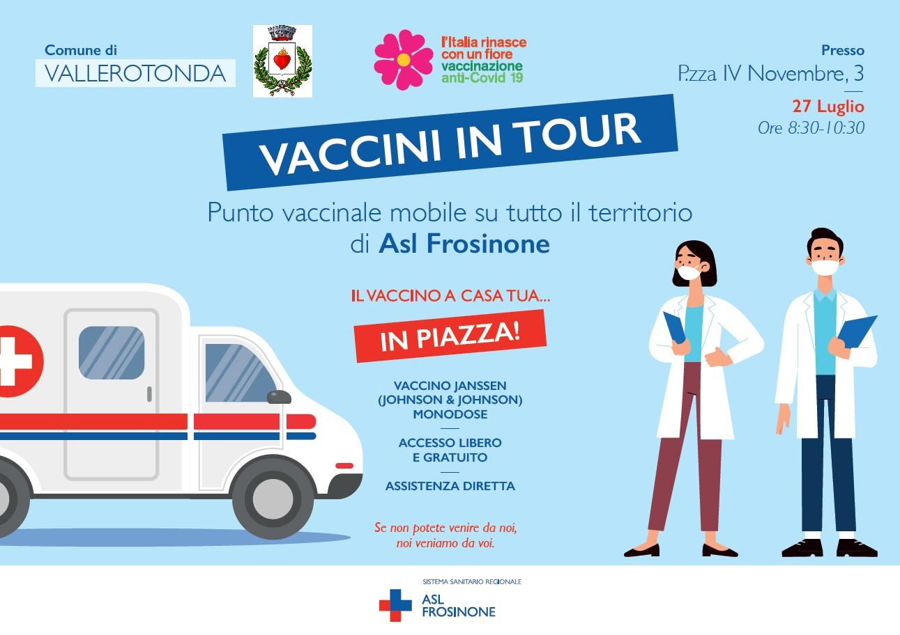 vaccini in tour vallerotonda